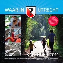 WaarInUtrecht kalender 2011 voorkant