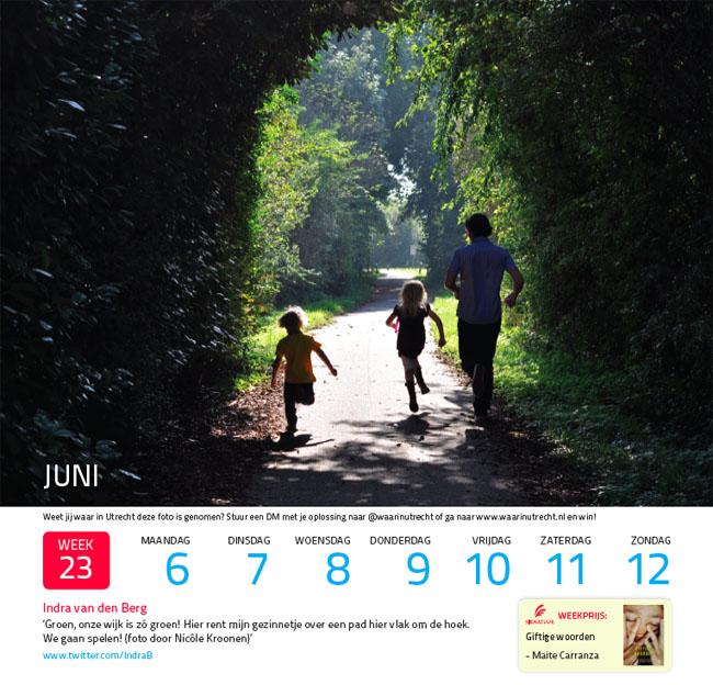WaarInUtrecht kalender 2011 week 23