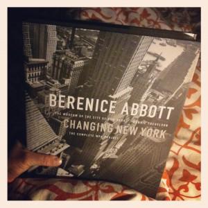 Cover Changing New York van Berenice Abbott